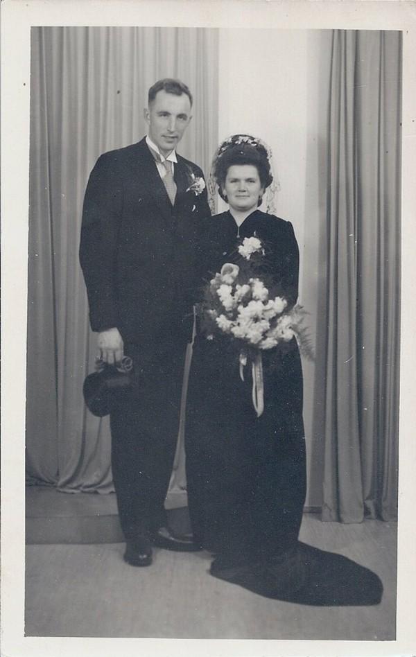 Joris Zonneveld en Adriaantje Leerdam trouwfoto