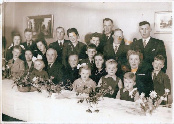 Joris Zonneveld en Marijtje Ramp kinderen en kleinkinderen