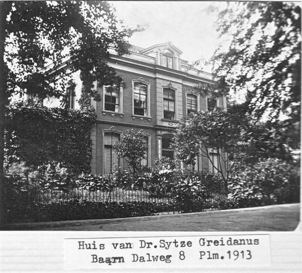Villa Dalhof, woning van Sijtze Greidanus
