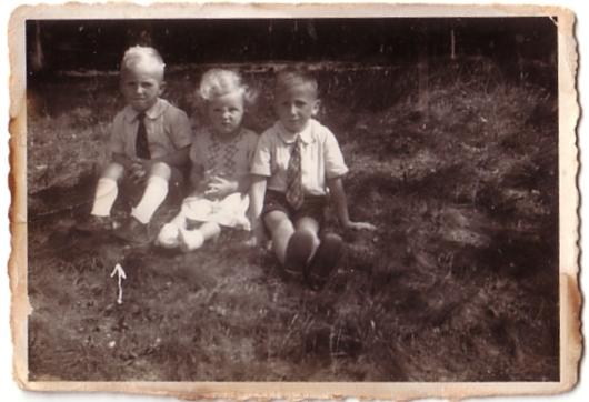 Albert Gerrit Lankhorst, Teuntje Lankhorst en Pieter Lankhorst