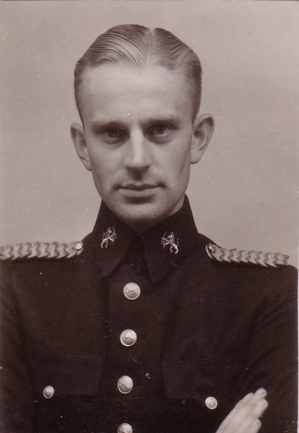 Dirk de Vree, inspecteur van politie