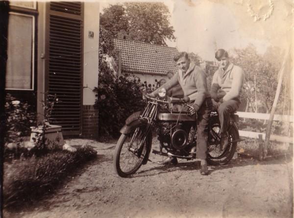 Gerrit Lankhorst en Jan Broerze