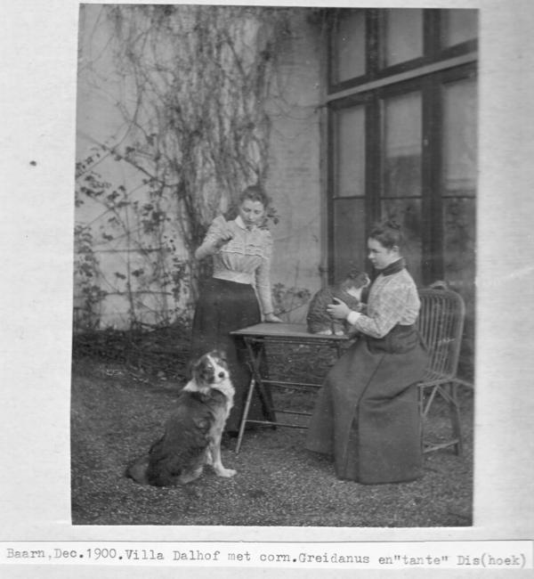 Cornelia Petronella Greidanus en Maria van Dishoeck