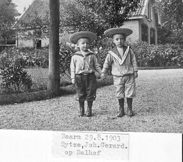 Sijtze Smit en Johannes Gerardus Smit
