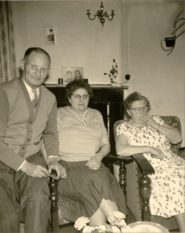 Gerrit van Groningen en Dina Hornsveld