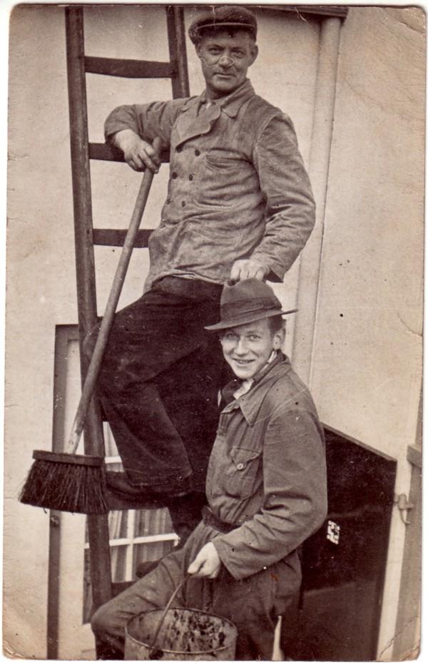 Arian van Klingeren en Frans Hendrik Cornelis Kotten
