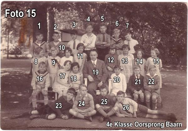 4e Klasse Oorsprong School Baarn