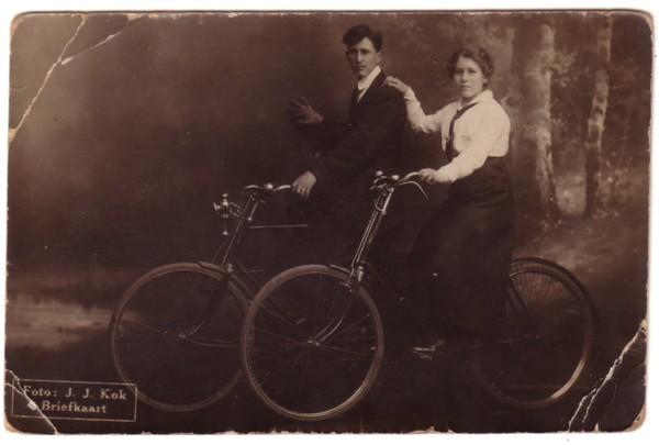 Foto  Gijsbertus Cornelis van de Steeg en Metje Brandt