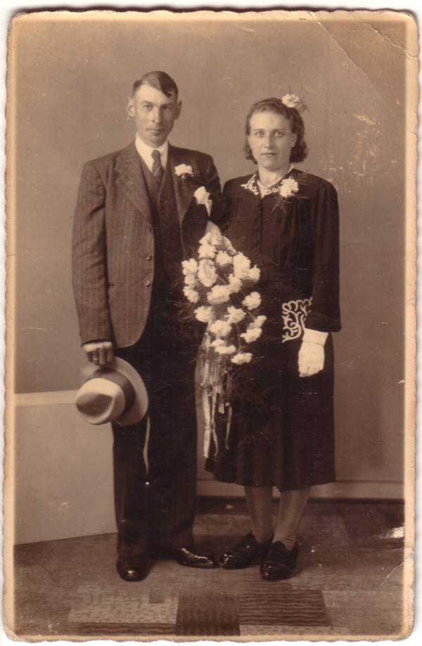 Marinus Veldhuizen en Jantje Spoor