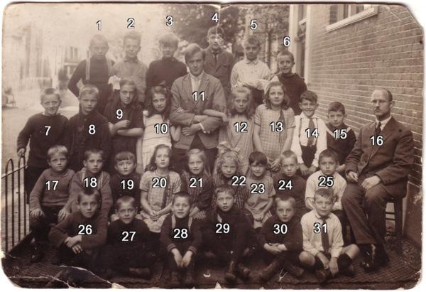 School met de Bijbel 1927