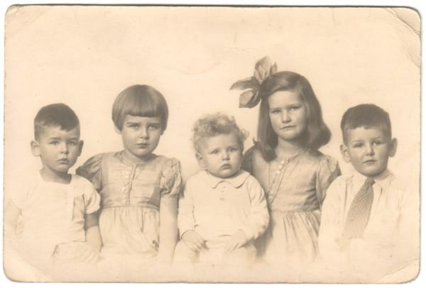 Kinderen van Gerardus Johannes Thimotheus Beuken en Louisa Agnes Keijzer
