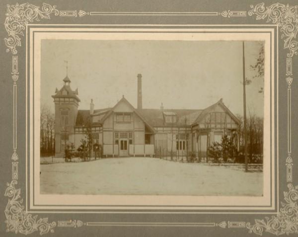 Ontwerp van Herman Onvlee, Chemische Fabriek de Veluwe te Nunspeet