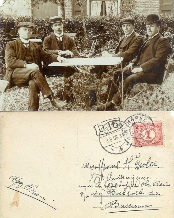 Herman Onvlee ansichtkaart