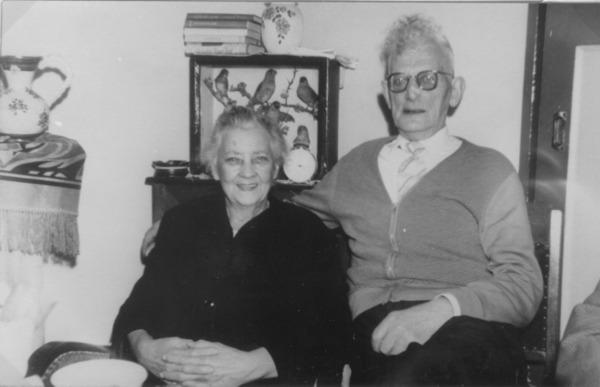 Hendrika Christina Pineda en Barend Adrianus Derksen