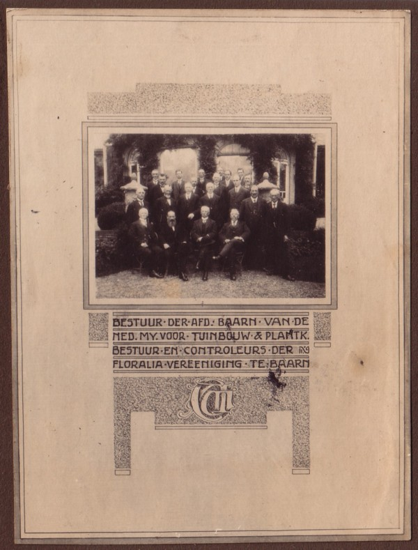 Document t.g.v. de 70ste verjaardag van Caspar Anton Woltman Elpers