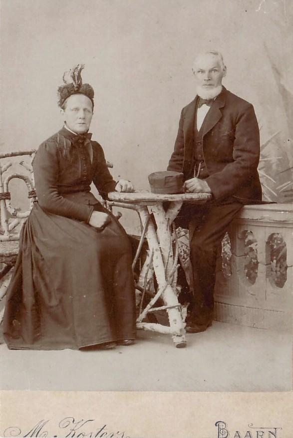 Anna Catharina Elisabeth Garnjobst en Gijsbertus van Kesteren