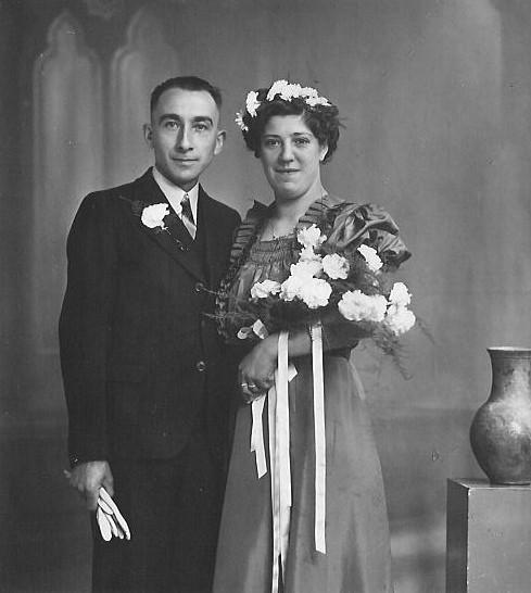 Teunis Gerhardus Koenen en Petronella van den Berg trouwfoto