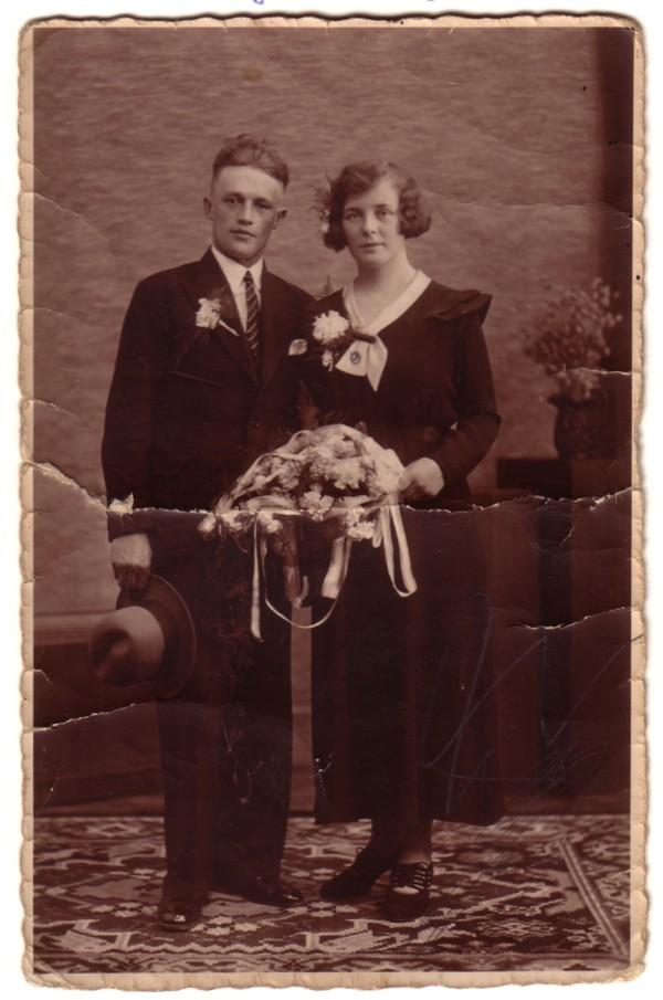 Gerrit Breunesse en Jacoba Klaasje van Dam