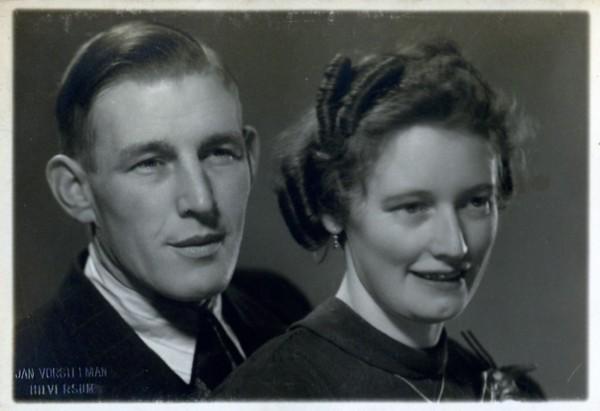Cornelis van den Broek en Cornelia Helena Scheel