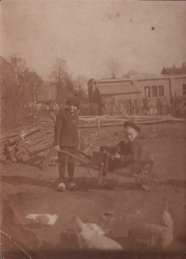 Hongaarse vluchteling en Johannes Gerardus Schouten