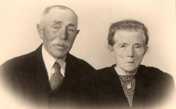 Elbert Dijs en Hendrika Florijn