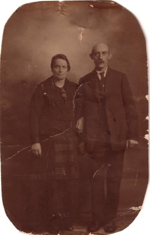 Wilhelmina van de Meent en Gerrit Breunesse
