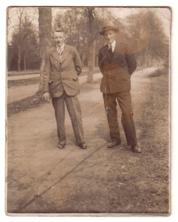 Foto  Johannes Breunesse en Jacob Breunesse