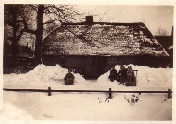 Huisje van Johanna Rosweij aan de Bremstraat