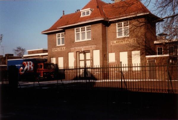 Openbaar slachthuis aan de Ericastraat