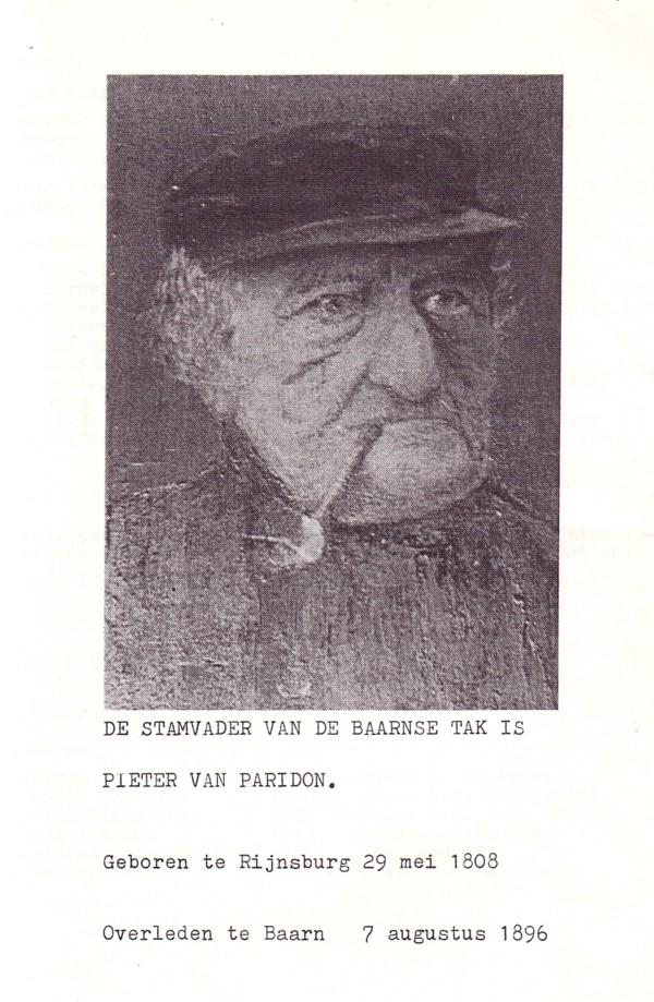 Foto  Pieter van Paridon
