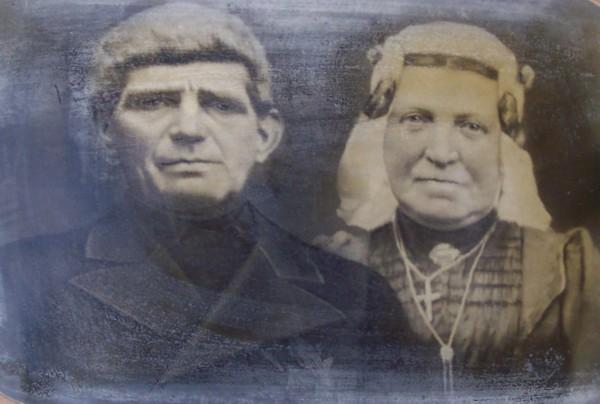 Foto  Pieter van Paridon en Antje van Velsen