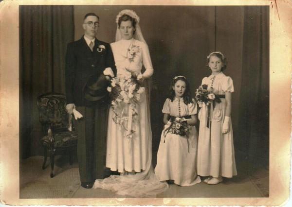 Hendrik Jan de Zoete en Anna Rodenburg trouwfoto