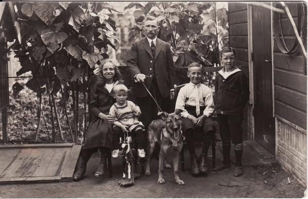 Familie Van de Vlekkert en Schinkel