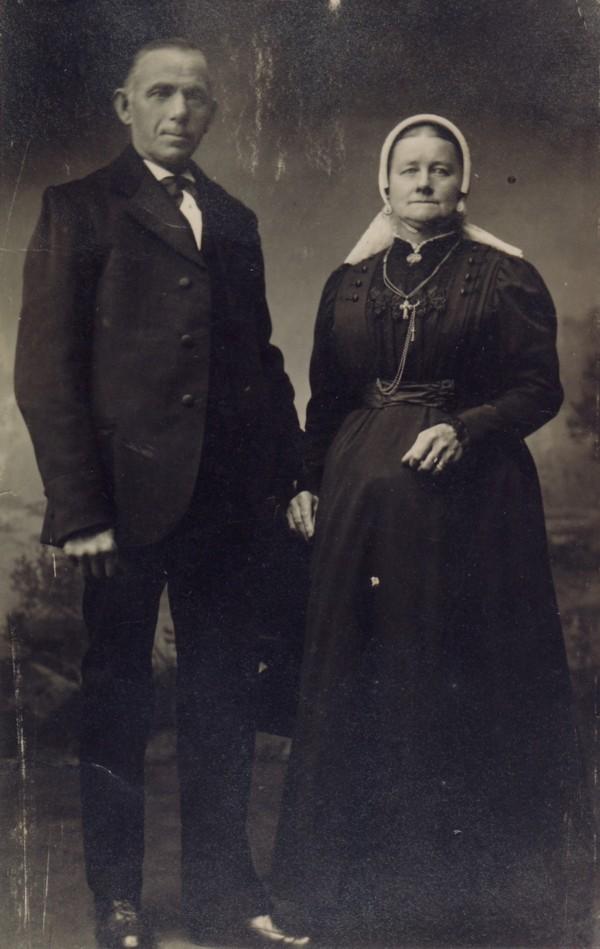 Anthonius den Ouden en Gijsberta van de Logt