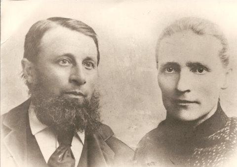 Gerrit van de Meent en Geertruida Vonk