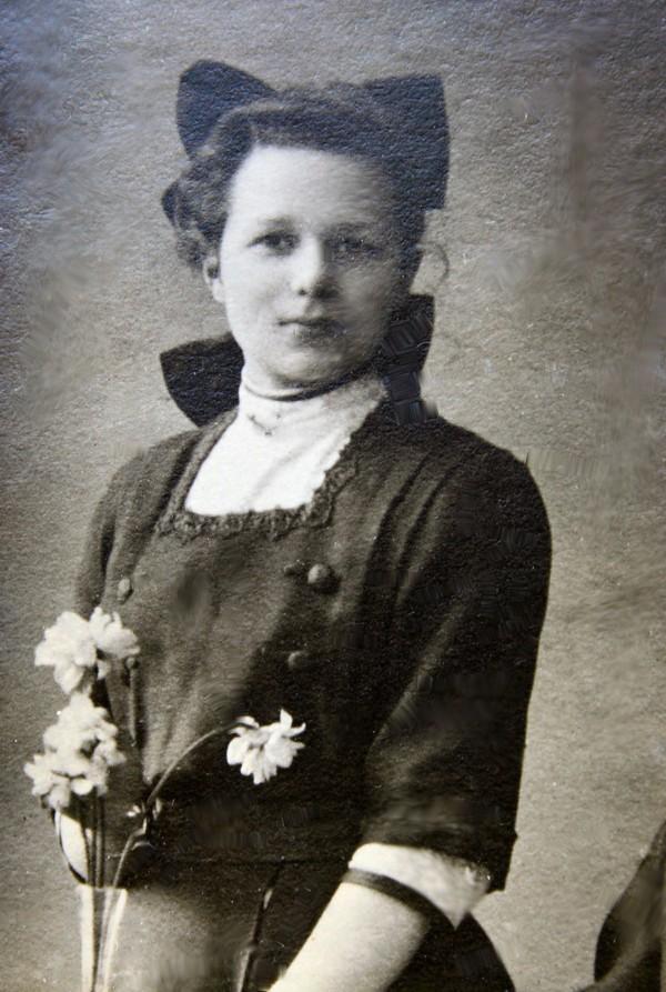 Anna Maria Klaassen in 1921