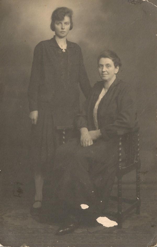 Lisetta Josepha de Ruiter en Klaasje de Ruiter