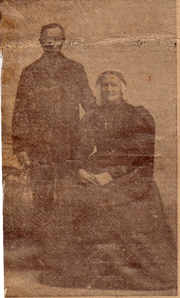 Joannes Huurdeman en Johanna Petronella van Paridon