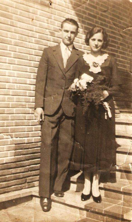Wilhelmus Hoebee en Johanna de Zoete trouwfoto