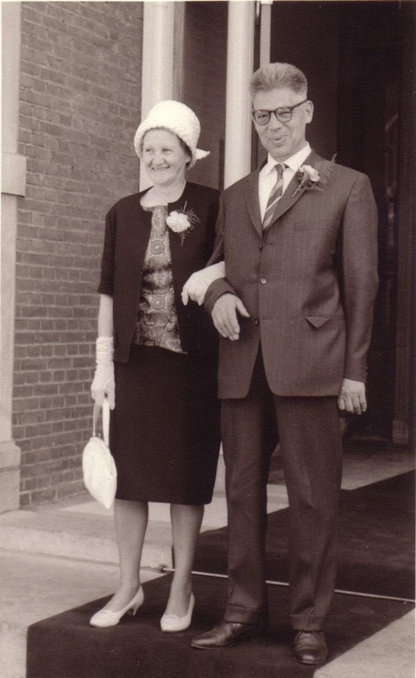 Gertrud Gesgarz en Christiaan Theodorus Mooij