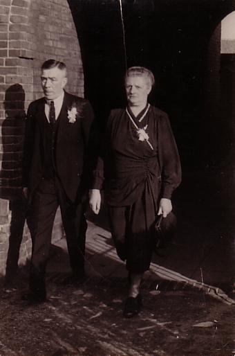 Jan Camper en Antonia Suik
