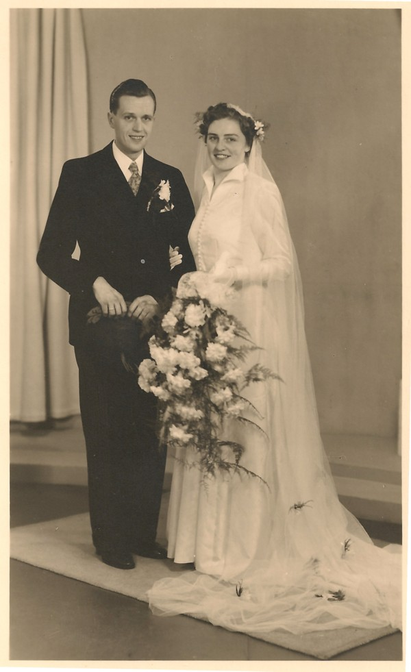 Nicolaas Karel Jansen en Gerritje Helena Hendrika Camper trouwfoto