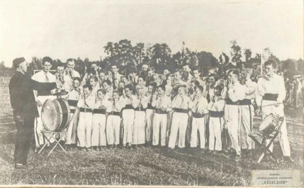 Baarnsche Mondharmonica Vereniging Excelsior in 1929
