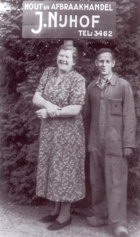 Heintje Bast en Jan Nijhof