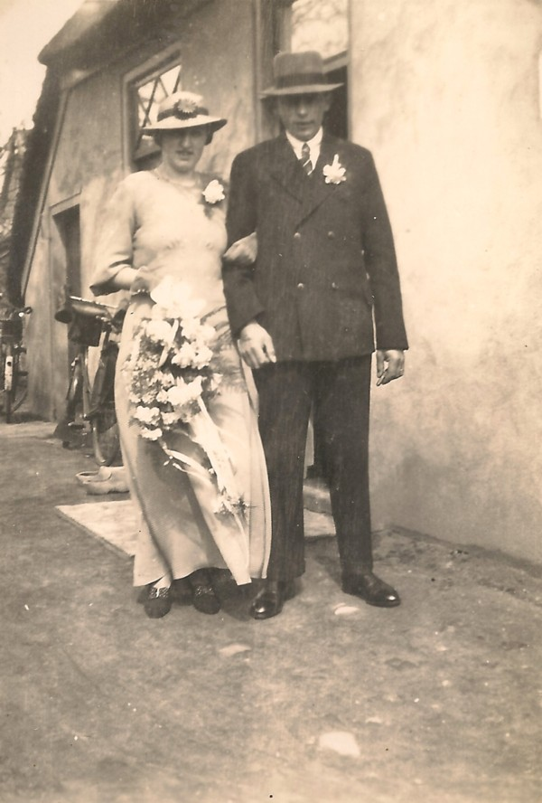 Catharina van de Pol en Gerrit Wegerif