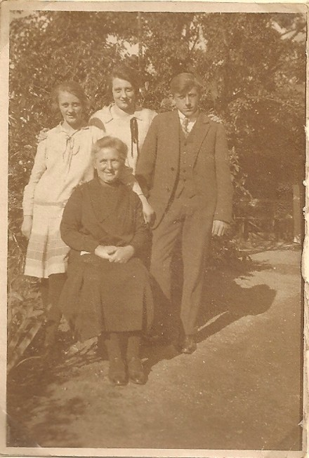 Hendrikje Pater, Grietje Wouters, Berendina Pater en Evert Pater