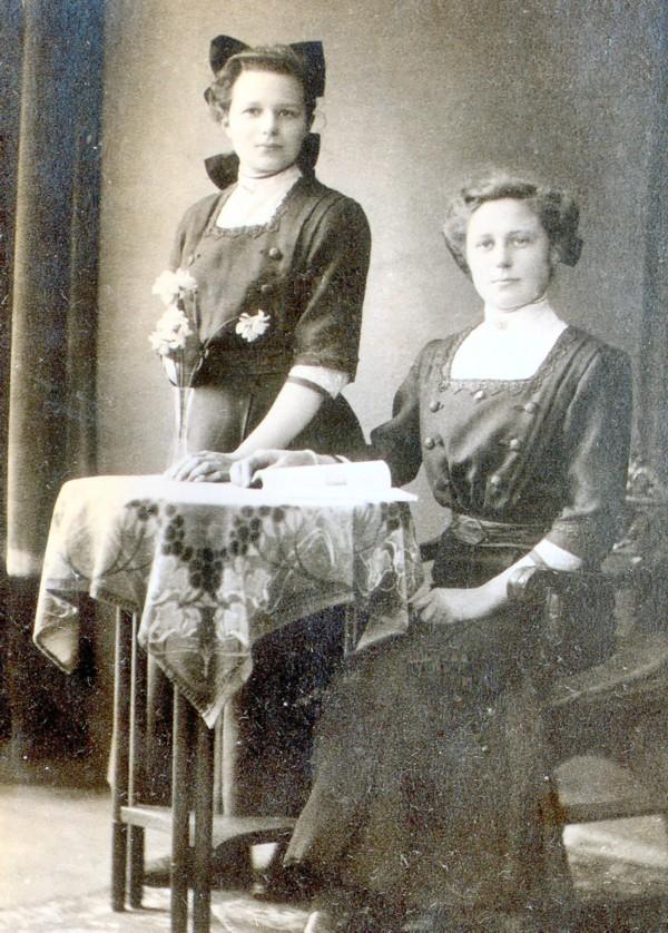 Anna Maria Klaassen en Wilhelmina Sophia Klaassen