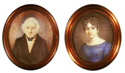 Frans Pen en Wilhelmina Schimmel