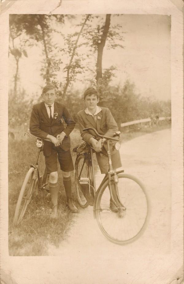 Foto  Evert Pater en Cornelis Hermanus Stolp