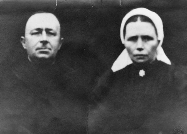 Teunis Lagemaat en Geertruida Donselaar